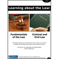 Learning about the Law: Fundamentals of the Law, Criminal and Civil Law (English)