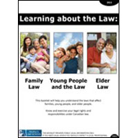 Learning about the Law: Family Law, Young People and the Law, and Elder Law (English)