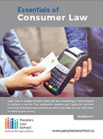 Essentials of Consumer Law (English)