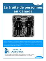 Human Trafficking in Canada (French)