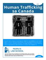 Human Trafficking in Canada (Tagalog)