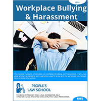 Workplace Bullying and Harassment (English)