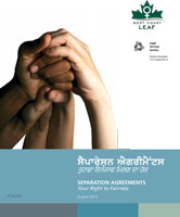 Separation Agreements: Your Right to Fairness (Punjabi)
