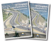 Design Build Standard Specifications for Highway Construction 2013