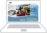 BC Plumbing Code - 2012 Online Subscription (10 Day Pass / 1 User)