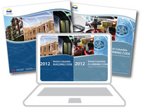 BC Building and Plumbing Code - 2012 (3 Binder Sets) and Online (1 Year/1 User) - Combo