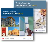BC Building and Plumbing Code - 2018 (3 Binder Sets) and Online (1 Year/1 User) - Combo