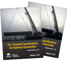 Standard Specifications for Highway  Construction 2012 - Volume 1 and 2