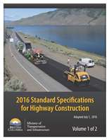 Standard Specifications for Highway Construction (2016) - Volume 1 and 2